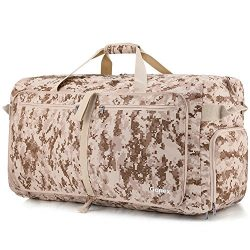 Gonex 100L CORDURA Travel Duffel Bag Desert Digital Camo