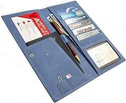Travel Wallet – Passport Holder – Document Organizer for Men and Women – Trave ...