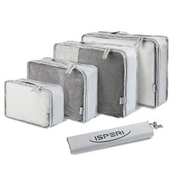 5 Set Packing Cubes – Travel Luggage Packing Organizers with Laundry Bag – Packing C ...