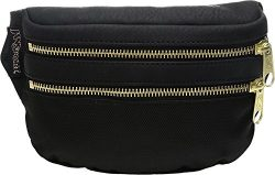 JanSport Hippyland Waistpack (Black / Gold)