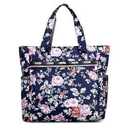 Nylon Large Lightweight Work Travel Handbag Beach Waterproof Tote Bags