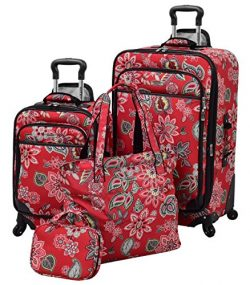 Waverly Boutique 4 Piece Set, Cherry Floral