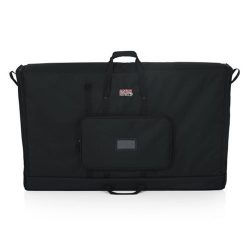 Gator Cases Padded Nylon Carry Tote Bag for Transporting LCD Screens, Monitors and TVs; 50″ ...