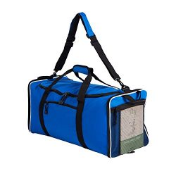 Lucien Hanna Foldable Duffle Bags 60L Large Gym and Travel Duffel Bags