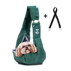 Pet Carrier Sling by Puppy Eyes | Ideal for small & medium dogs, cats or rabbits up to 15 lb ...
