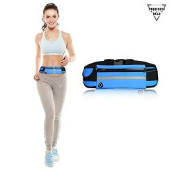 Forbidden Road Sport Running Belt Adjustable Water Resistant Fanny Pouch Bag Fitness Gear Exerci ...