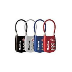 Master Lock Company 4688D 2 Pack TSA Accepted Cable Luggage Lock
