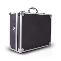 Zeikos ZE-HC18 Deluxe Small Hard Shell Case With Extra Protected Foam For Travel and Storage Cas ...