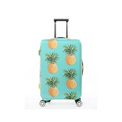Fvstar Pineapple Print Luggage Cover Spandex Suitcase Cove Protective Bag 18-32 inch