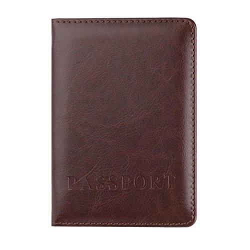 Hot Sale! Neartime Wallet, 2018 Unisex Leather Passport Holder Cover Case Blocking Travel Letter ...