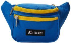 Everest Signature Waist Pack – Standard, Royal Blue, One Size