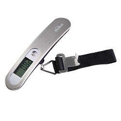 Luggage Scale, Kealive Digital Hanging Luggage Scale for Traveler, 0.02lb High-accuracy Reading, ...