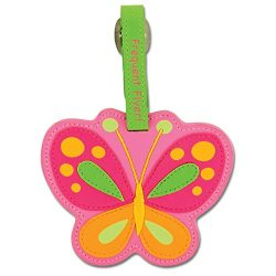 Stephen Joseph Luggage Tag, Butterfly