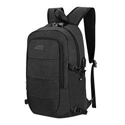 Laptop Backpack – Business Anti Theft Waterproof Travel Backpack with USB Charging Port &a ...