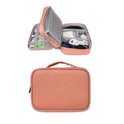 BUBM Travel Gadget Organizer Bag Digital Versatile Case Electronics Accessories Storage Bag R ...