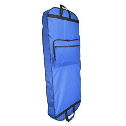 DALIX 60″ Professional Garment Bag Cover for Suits Pants & Gowns Dresses (Foldable) (R ...