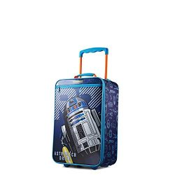 American Tourister Kids' Softside 18″ Upright, Star Wars R2-Dye