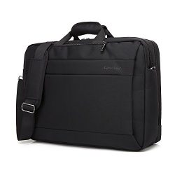 Business Laptop Messenger Bag 17-17.3 Inch/Nylon Multi-compartment Briefcase/Computers Backpack  ...