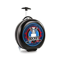 Heys Kids Sports Luggage 16 Inch Wheeled Suitcase for Boys – Hockey Puck