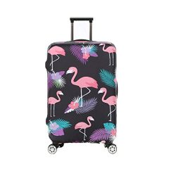 Fvstar Washable Luggage Cover Protector Spandex Suitcase Cover for Travel (L (25-28 inch Luggage ...