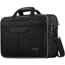Laptop Briefcase Bag, TSA Computer Messenger Bag, Water Rasistant Durable Office Laptop Case wit ...