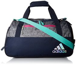adidas Squad III duffel Bag, Green/Bahia Magenta/Frozen Yellow, One Size