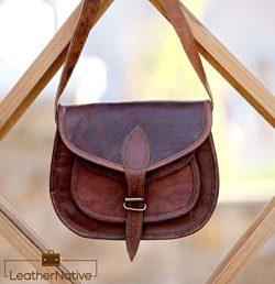 Leather Native Women's Leather Purse Gypsy Bag Crossbody Women Handbag Shoulder Travel Sat ...