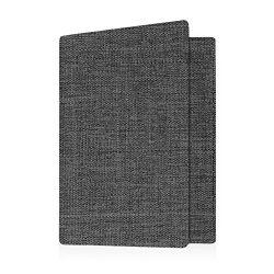 Fabric Passport Holder Cover, Fintie RFID Blocking Passport Case Travel Wallet (Denim Charcoal)