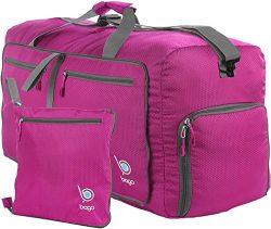 bago Travel Duffle Bag For Women & Men – Foldable Duffel Bag For Luggage Gym Sports (M ...