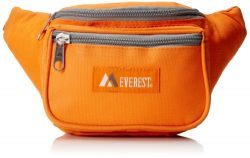 Everest Signature Waist Pack – Standard, Orange, One Size