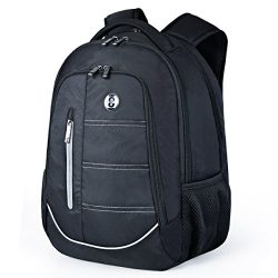 Swissdigital Laptop Backpack, Busniess Travel Hiking Daily Smart Backpack with RFID Protection f ...