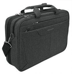 KROSER Laptop Bag 15.6 inch Briefcase Laptop Messenger Bag Water Repellent Computer Case Tablet  ...
