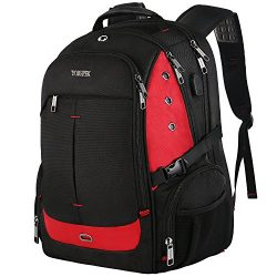 17 Inch Laptop Backpack,Extra Large Travel Backpacks with USB Charging Port for Business Women  ...