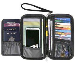 RFID Passport Holder Travel Wallet