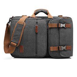 CoolBELL Convertible Briefcase Backpack Messenger Bag Shoulder bag Laptop Case Business Briefcas ...