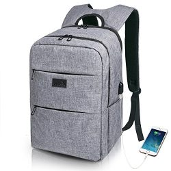 Laptop Backpack Travel Anti Theft Business Water Resistant Backpack for Men & Women, Lightwe ...