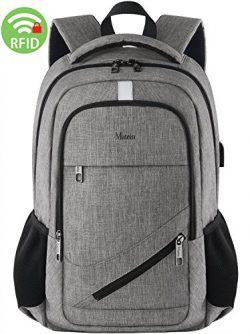 Computer Laptop Backpack,Slim College Student Backpack for Women&Men,Business Travel Laptop  ...