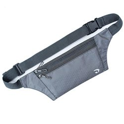 Naoki Outdoor Sports Running & Jogging & Travel Waterproof Utralthin Waist Pack / Bag Ru ...