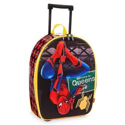 Marvel Disney Store Spider-Man Rolling Luggage Suitcase – Kids Boys