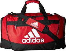adidas Defender III Duffel Bag, Red/Black/White, Medium
