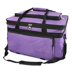Waterproof Art/Craft Supplies Storage Tote Bag Oxford Artist Travel Portfolio Carrying Bag Case, ...