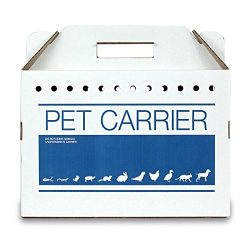Cardboard Pet Carrier 12pk