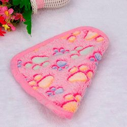 Pet Blanket HCFKJ Puppy Blanket Pet Cushion Small Dog Cat Bed Soft Warm Sleep Mat, Pet Dog Cat P ...