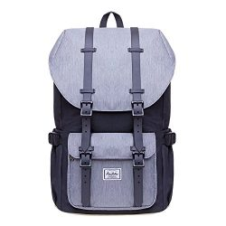 Laptop Outdoor Backpack, Travel Hiking& Camping Rucksack Pack, Casual Large College School D ...