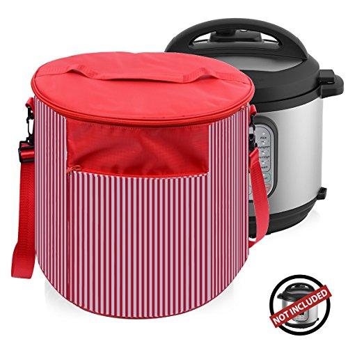 Instant Pot Cover Travel Carrying Tote Bags – Instant Pot Accessories 6 Quart- Dustproof a ...
