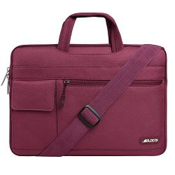 Mosiso Laptop Shoulder Bag for 15-15.6 Inch 2017/2016 MacBook Pro with Touch Bar, MacBook Pro, N ...