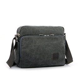 Shoulder Purses for Men, Multifunction Versatile Canvas Mens Crossbody Messenger Bag Handbag Cro ...