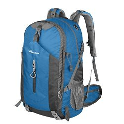 OutdoorMaster Hiking Backpack 50L – Hiking & Travel Backpack w/Waterproof Rain Cover & ...