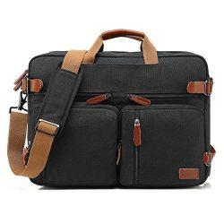 CoolBELL Convertible Backpack Messenger Bag Shoulder bag Laptop Case Handbag Business Briefcase  ...