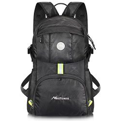 Manificent Lightweight Packable Travel Hiking Backpack, Durable Daypack, Water Resistance Foldab ...